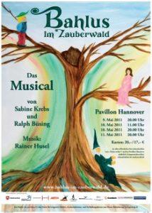 """Plakat """"Bahlus im Zauberwald"""""""