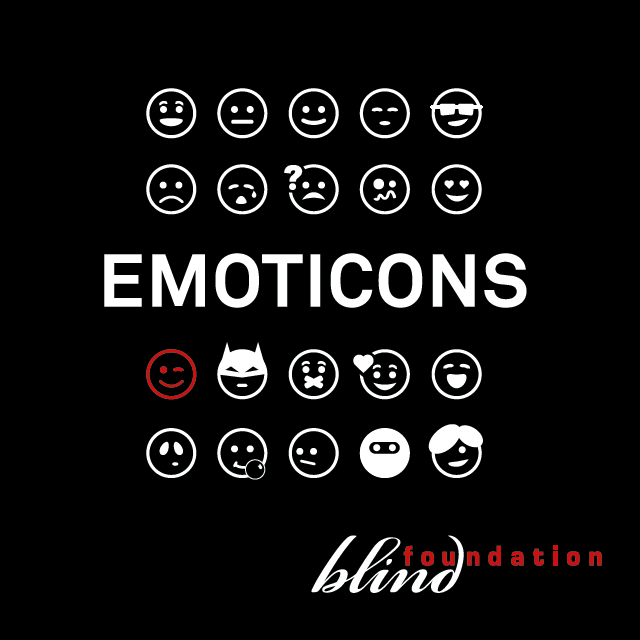 Cover CD EMOTICONS Blind Foundation